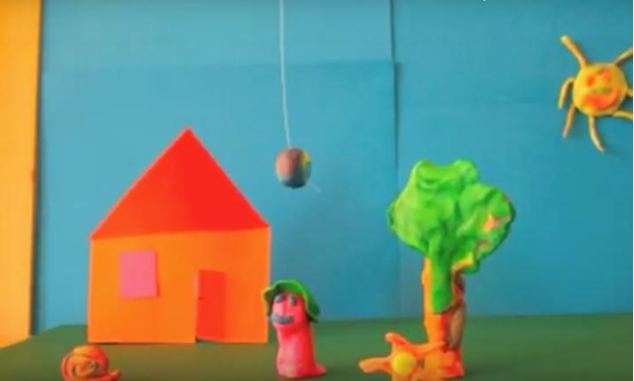 Trickfilme: Der Ball im Baum
