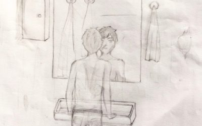 Geschichtenanfang: Mein Anblick im Spiegel