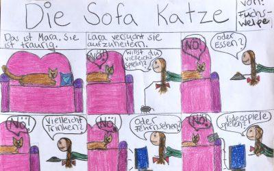 Comics: Die Sofa-Katze