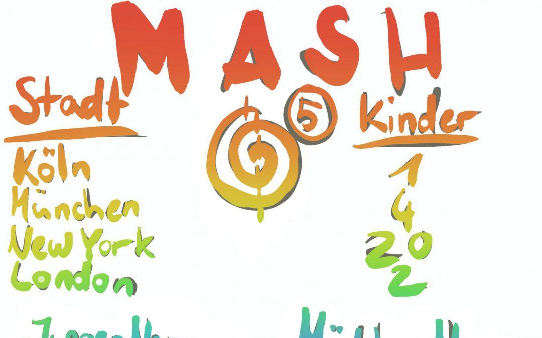 MASH – Sage deine Zukunft voraus