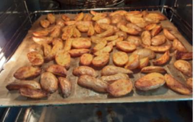 Rezepte: Kartoffel-Ecken